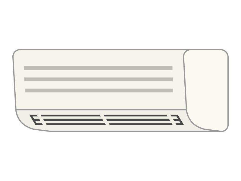 家電・エアコンのイラスト