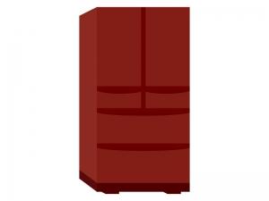 家電・大型冷蔵庫のイラスト