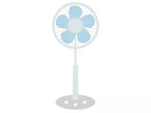 家電・扇風機のイラスト