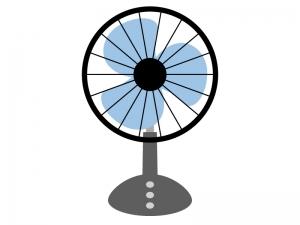 家電・小型扇風機のイラスト