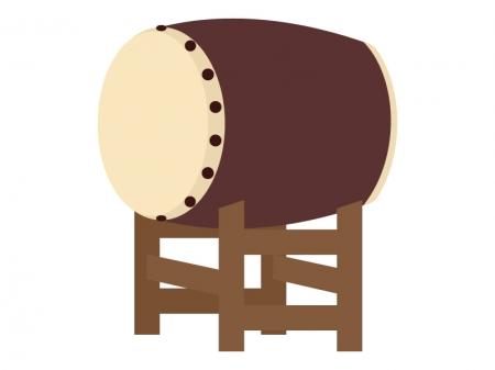 和太鼓のイラスト
