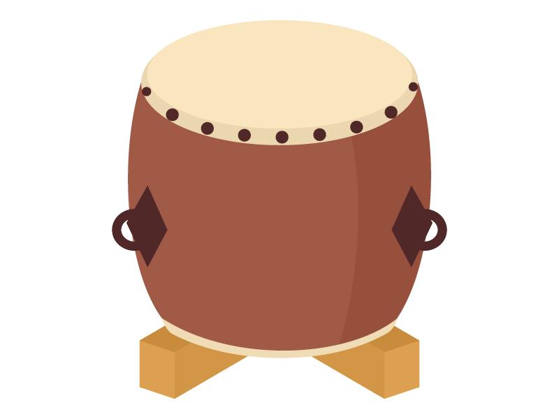 和太鼓のイラスト02
