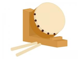 和太鼓のイラスト03