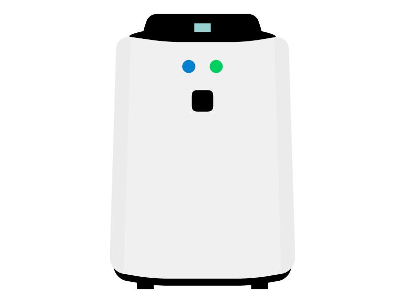 空気清浄機のイラスト