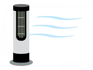 マイナスイオン・空気清浄機のイラスト02