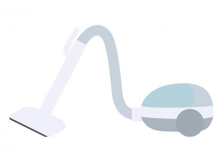 家電・掃除機のイラスト