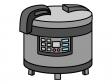 業務用の炊飯器のイラスト