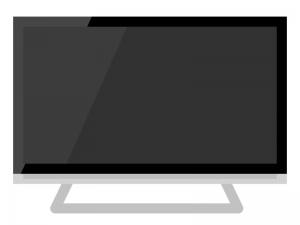 大型デジタル液晶テレビのイラスト02