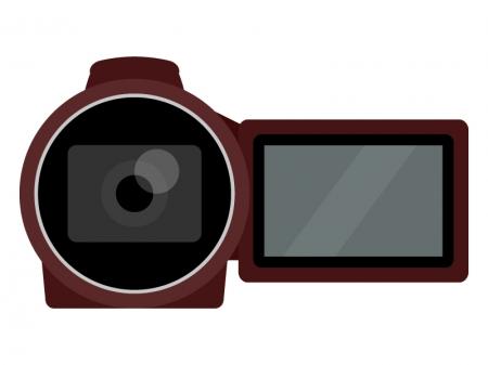 家庭用ビデオカメラのイラスト02