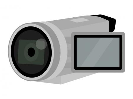 家庭用ビデオカメラのイラスト03