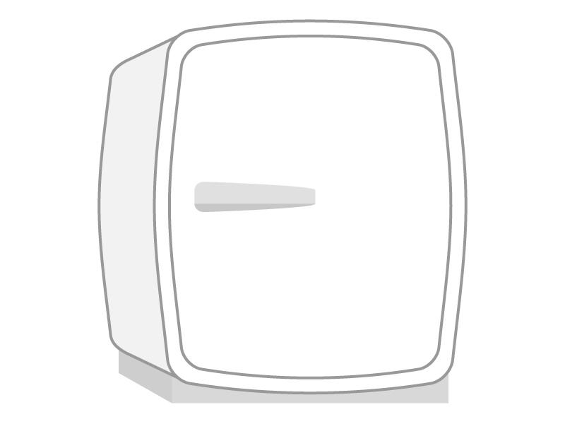家電・小型冷蔵庫のイラスト
