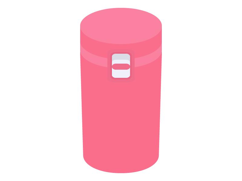 水筒・マイボトルのイラスト
