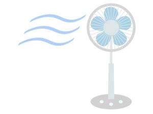 家電・扇風機のイラスト02
