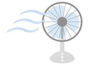 家電・扇風機のイラスト03