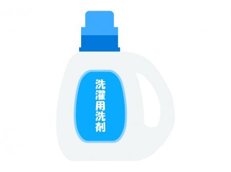 洗濯用洗剤のイラスト