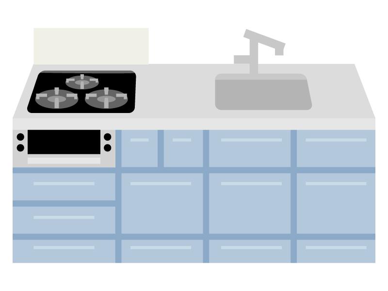 システムキッチンのイラスト02