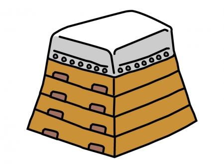 跳び箱のイラスト