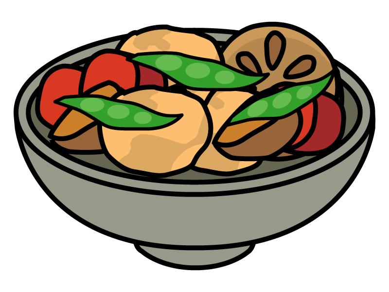 野菜の煮物のイラスト