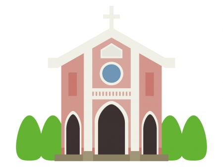 教会のイラスト02
