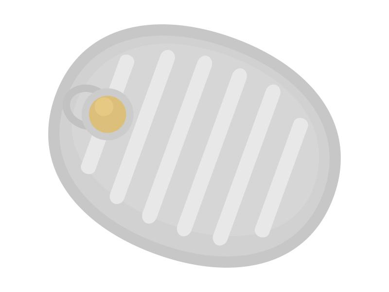 湯たんぽのイラスト