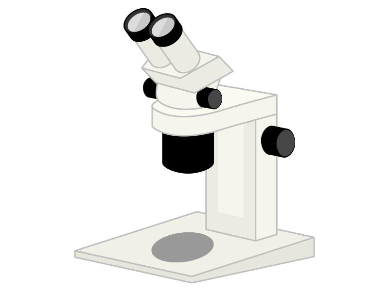 顕微鏡のイラスト02