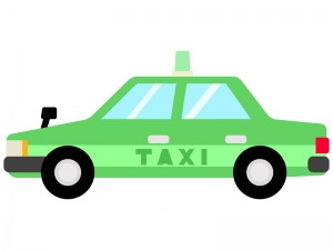 タクシーのイラスト02