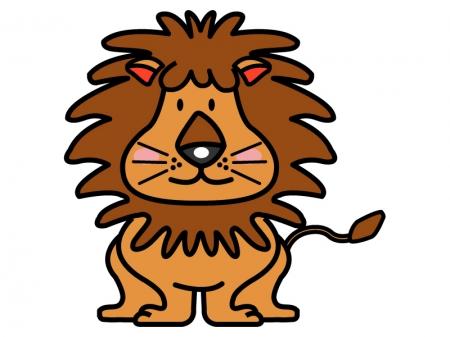 かわいいライオンのイラスト03