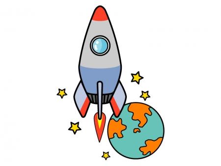ロケットのイラスト05