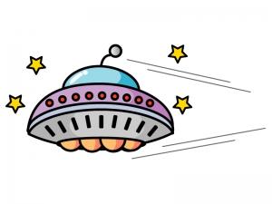 UFOのイラスト03