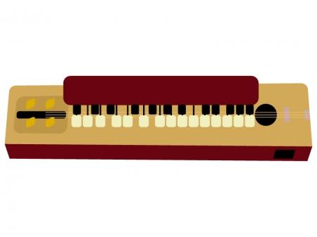 和楽器・大正琴のイラスト02