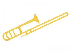 楽器トロンボーンのイラスト イラスト無料かわいいテンプレート