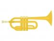 楽器・トランペットのイラスト02