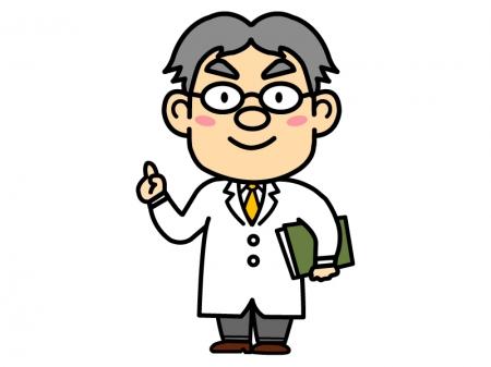 教授・先生のイラスト02