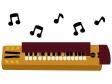 音符と大正琴のイラスト02
