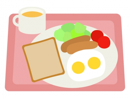 モーニング・洋食のイラスト