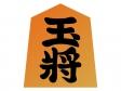 将棋・玉将の置物のイラスト