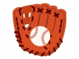 野球・グローブとボールのイラスト