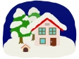 冬の景色のイラスト02