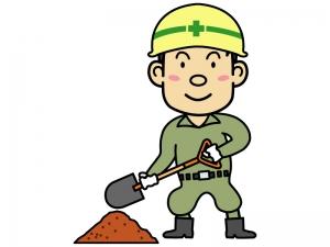 工事・土木作業員のイラスト02