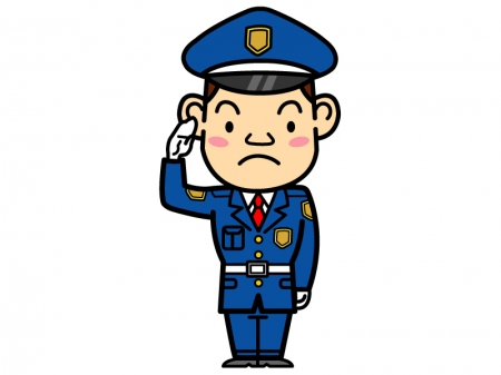 警備員のイラスト