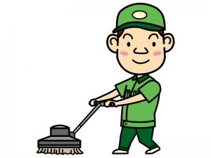 掃除作業員のイラスト02