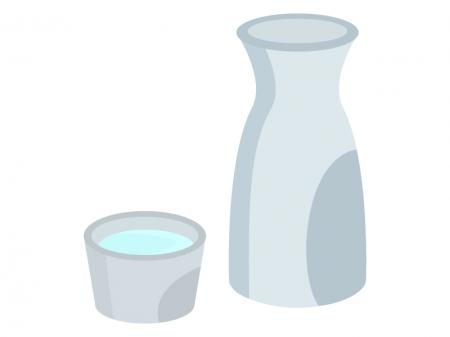 日本酒・徳利のイラスト