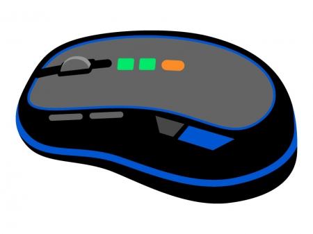 ゲーミングマウスのイラスト