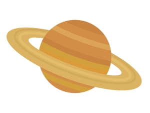 土星のイラスト