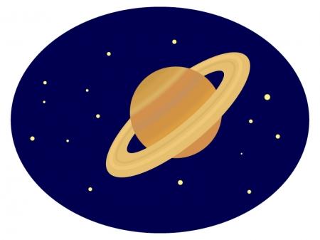 土星のイラスト02