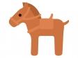 はにわ馬のイラスト02