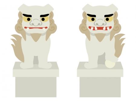 狛犬のイラスト02