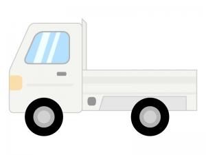 軽トラックのイラスト