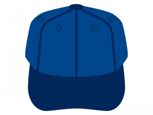 野球帽のイラスト