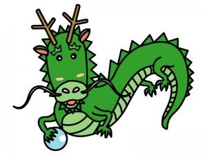 かわいい龍・ドラゴンのイラスト02